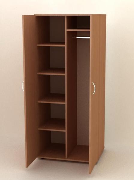 Шкаф для одежды с распашными дверьми от производителя под заказ в Гродно