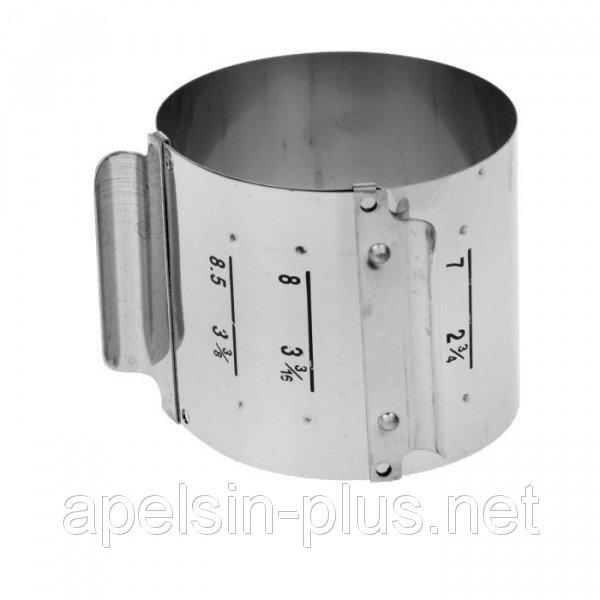 Раздвижное кольцо для формирования гарниров и салатов