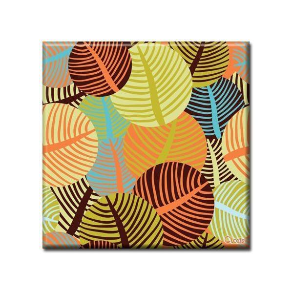 Картина Leaves Glozis D-005 50 х 50 см