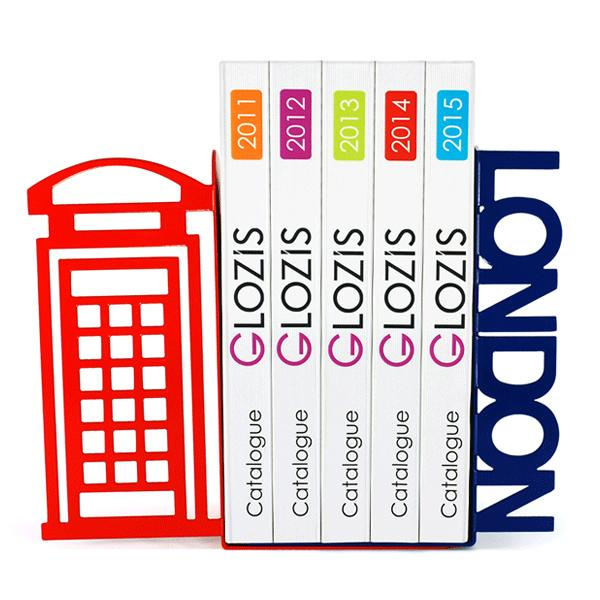 Упоры для книг Glozis London G-010 30 х 20 см