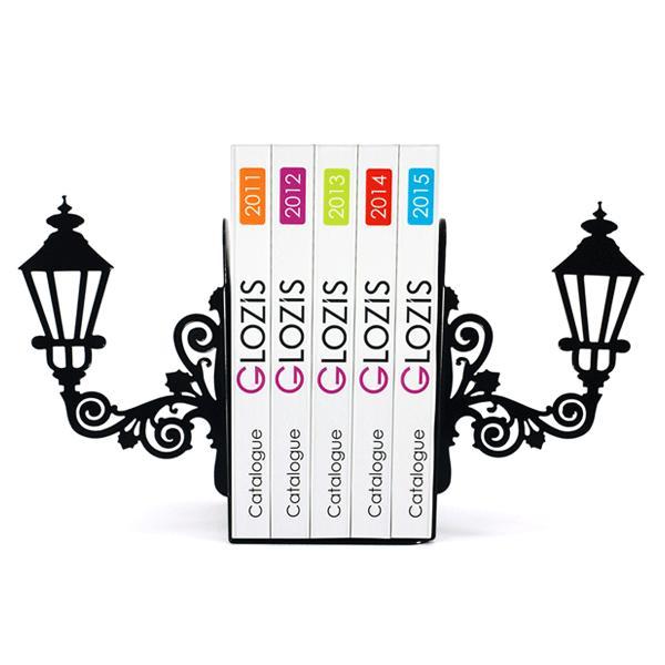 Упоры для книг Glozis Lamppost G-013 30 х 20 см