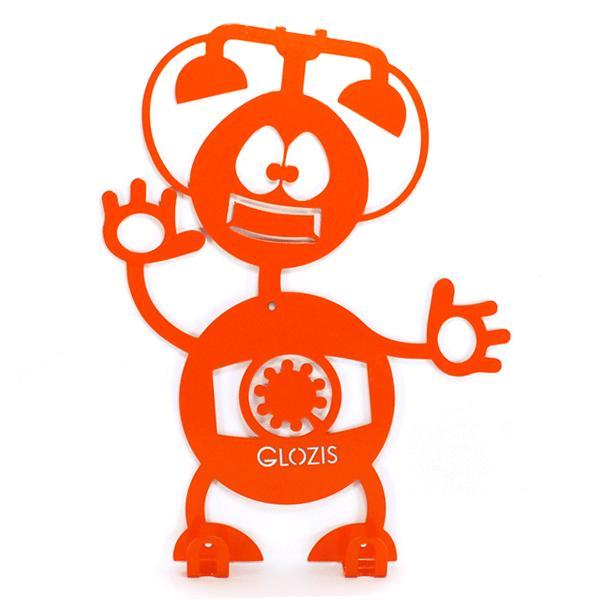 Вешалка настенная Детская Glozis Robot Phone H-008 26 х 22см