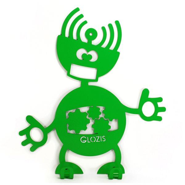 Вешалка настенная Детская Glozis Robot Mechanic H-009 26 х 22см