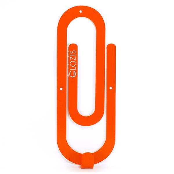 Вешалка настенная Крючок Glozis Clip Orange H-014 26 х 10см