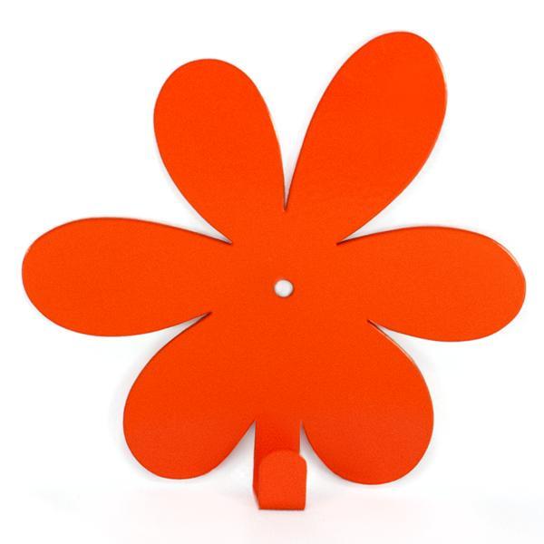 Вешалка настенная Крючок Glozis Flower Orange H-019 13 х 12см