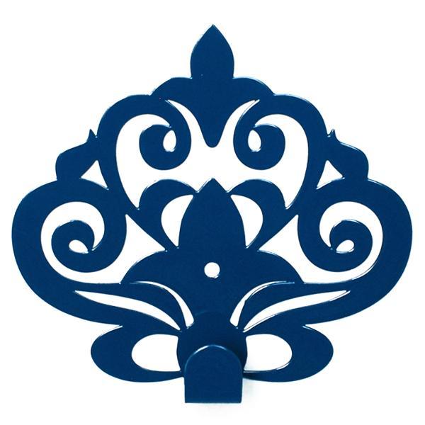 Вешалка настенная Крючок Glozis Ajur Blue H-061 11 х 10см
