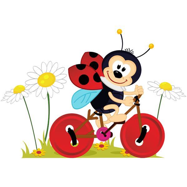Виниловая Наклейка Glozis Ladybug