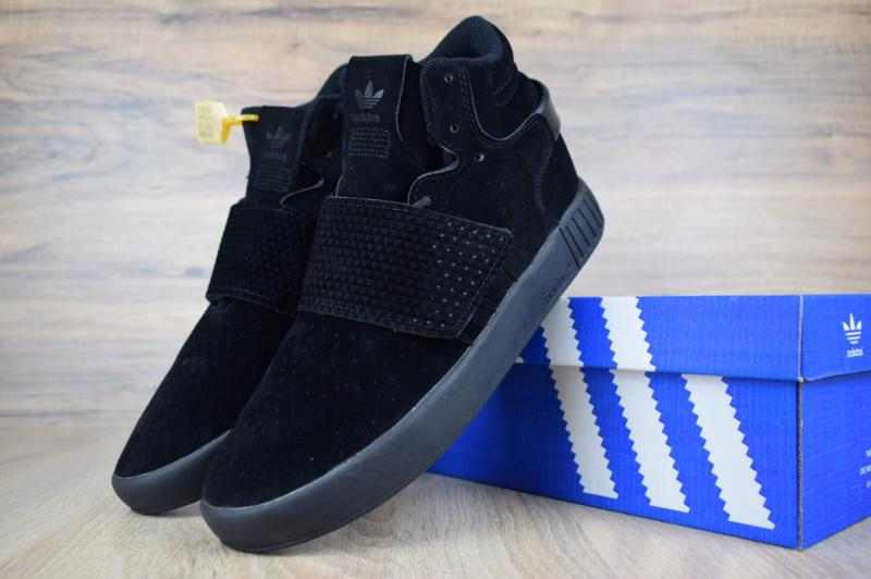 Фото  Adidas Tubular Invader Black (36-45)