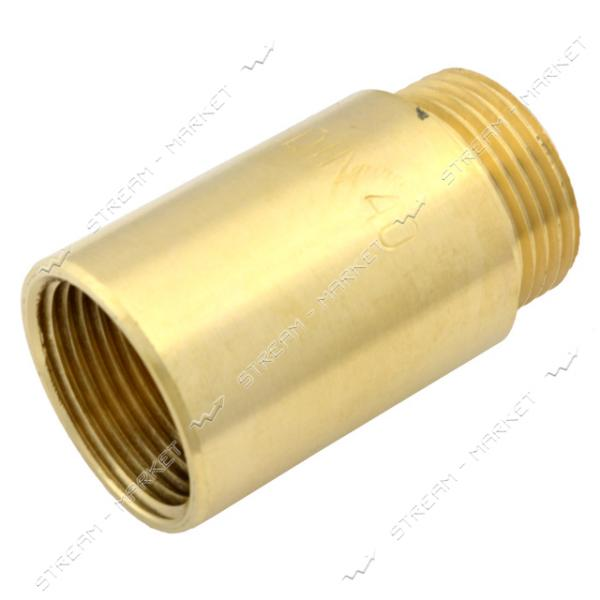 Удлинитель N8790.ж латунь 3/4' L=40 (штамповка)