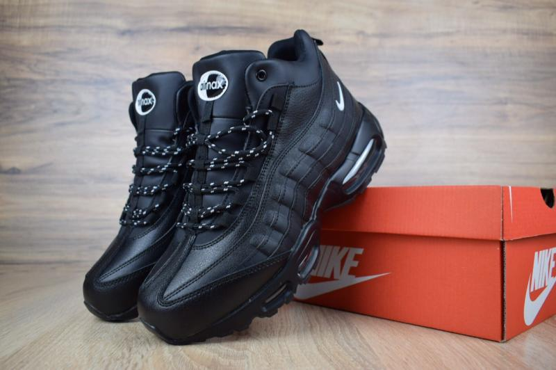 Фото  Nike Air Max 95 SneakerBoot Winter Black (41-46)