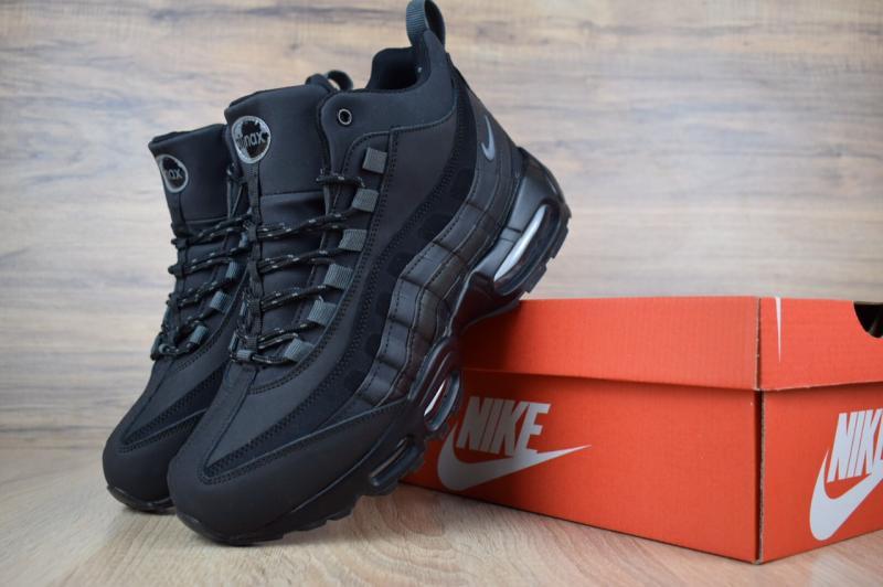 Фото  Nike Air Max 95 SneakerBoot Winter Black (41-46)