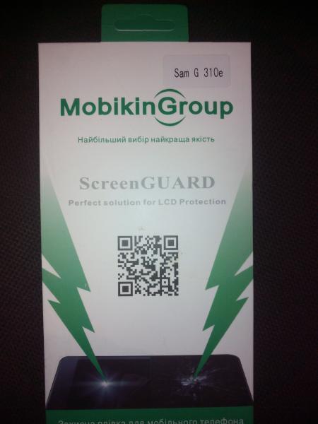 Защитная пленка Samsung G 310e (Глянцевая)