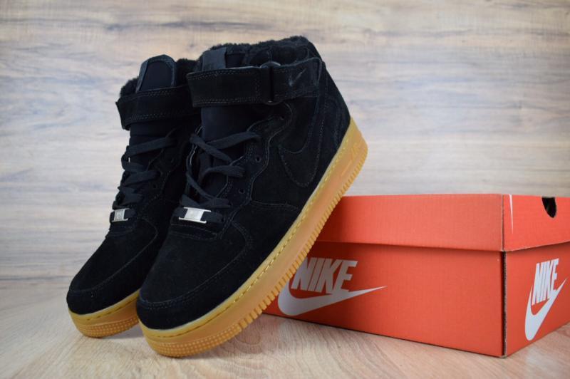 Фото  Nike Air Force High Black (41-45)