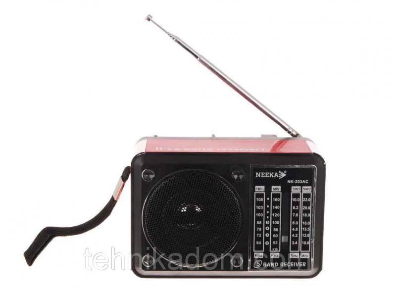 Радіоприймач NEEKA NK203AC (96534)