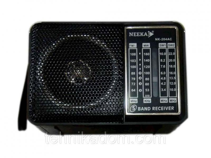 Радіоприймач NEEKA NK204AC (96535)