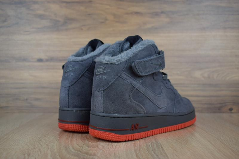 Фото  Nike Air Force High Gray (41-45)