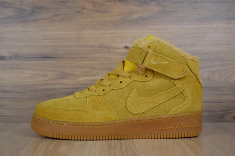 Nike Air Force High Yellow (41-45)