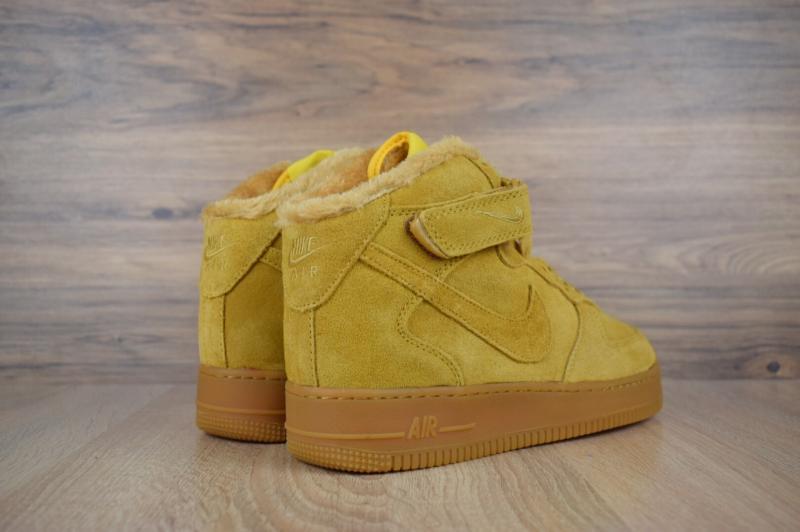 Фото  Nike Air Force High Yellow (41-45)