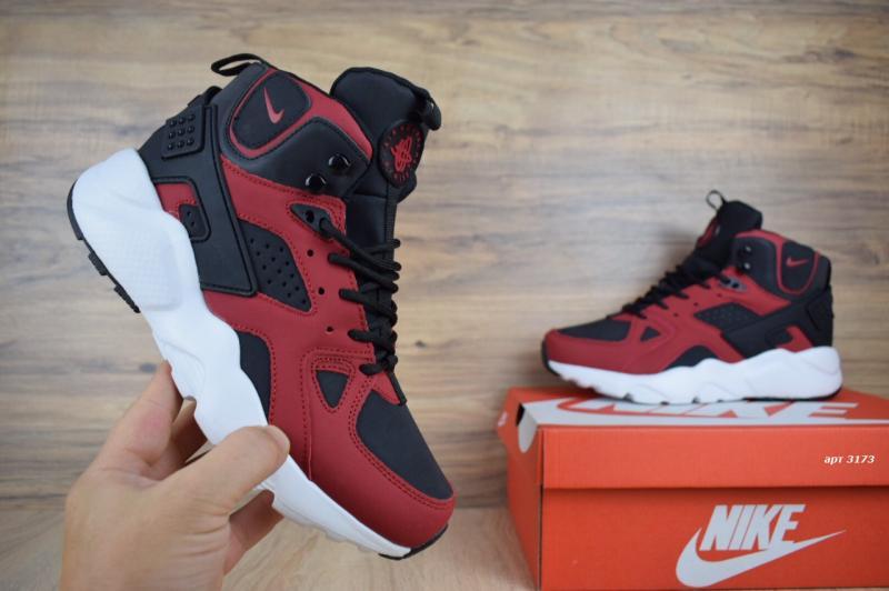 Фото  Nike Air Huarache Black Red (41-45)