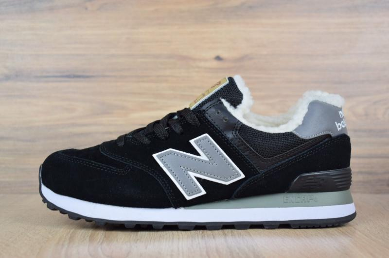 New Balance 574 Black (36-46)