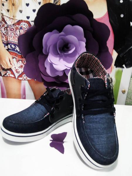 Джинсовые туфли  на мальчика деми 34