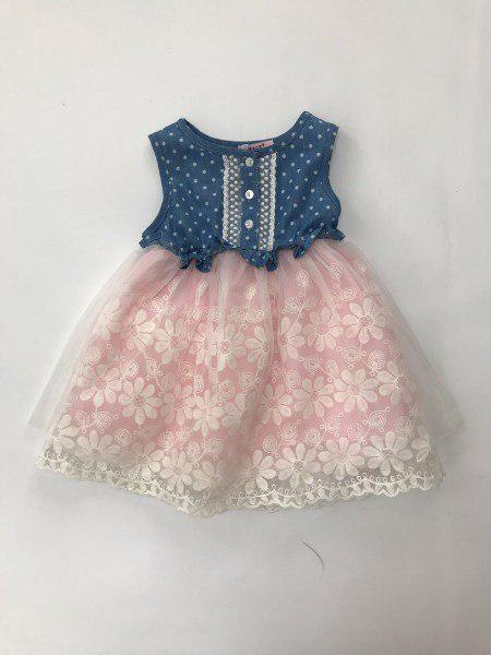 Легкое платье нарядное на девочку 4