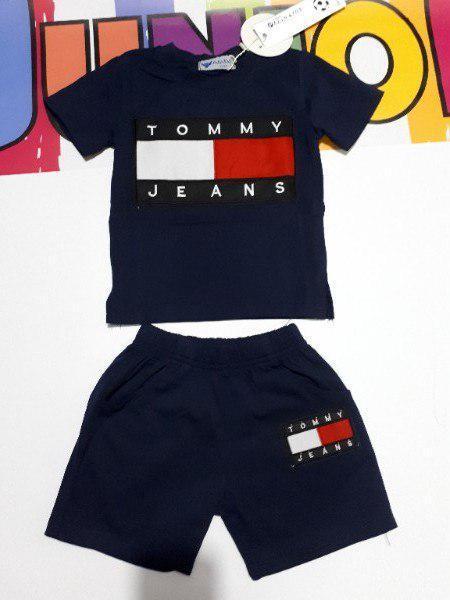 Летний костюм шортами Томи 98