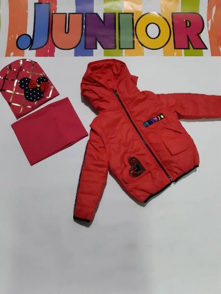Демисезонная куртка трансформер  на девочку