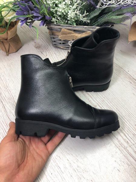 Ботинки на низком ходу натуральные
