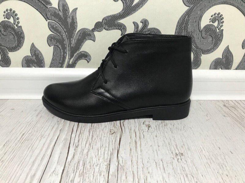 Кожаные ботинки 2018 38