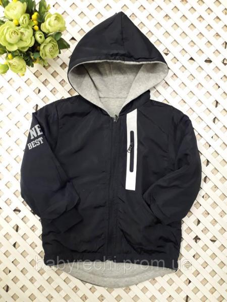 Демисезонная двухсторонняя курточка парка для мальчика 4-12 лет 10