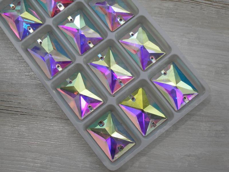 Прямоугольник Crystal AB 18*25