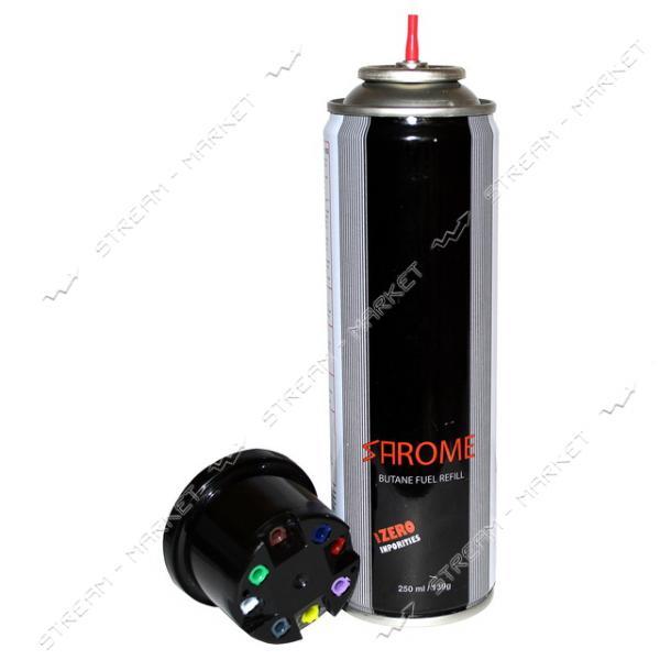 Баллон для заправки зажигалок Sarome газ 250мл