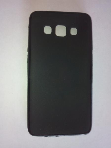 Чехол силиконовый Samsung Galaxy A3 черный