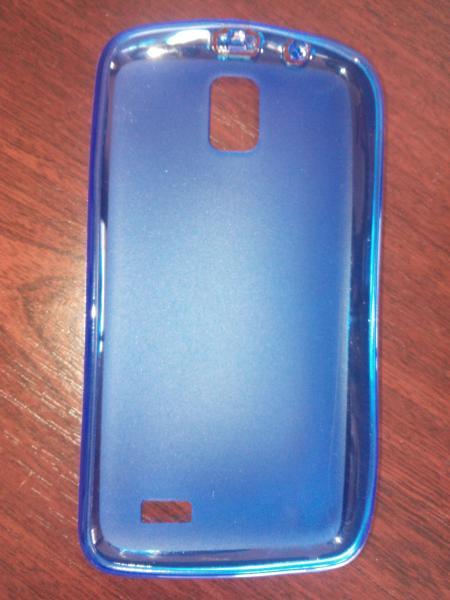Чехол силиконовый Lenovo А328Т синий