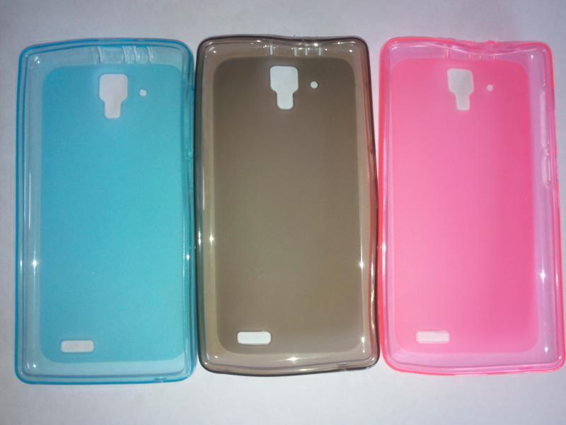 Чехол силиконовый Lenovo А328Т/А536 розовый, голубой, серый