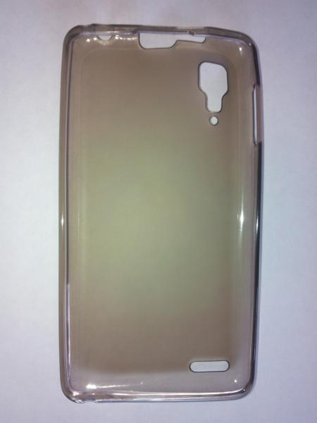 Чехол силиконовый Lenovo P780 серый