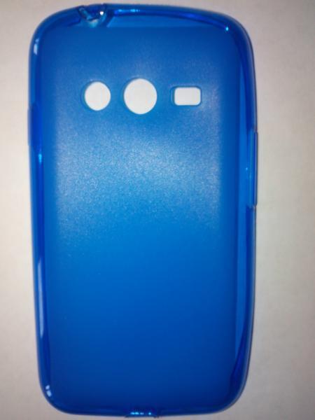 Чехол силиконовый Samsung Ace 4 Lite G313h синий