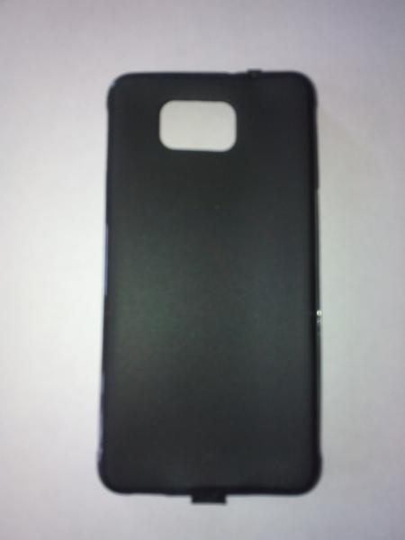 Чехол силиконовый Samsung G850F Galaxy Alpha черный