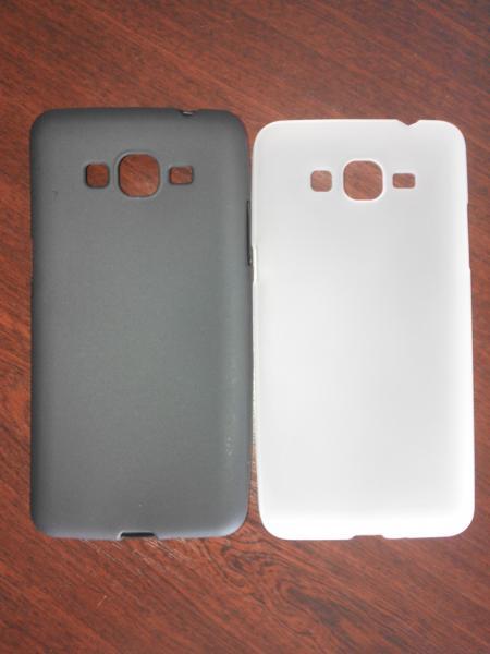 Чехол силиконовый Samsung Galaxy Grand Prime G530/G5308W черный, молоко
