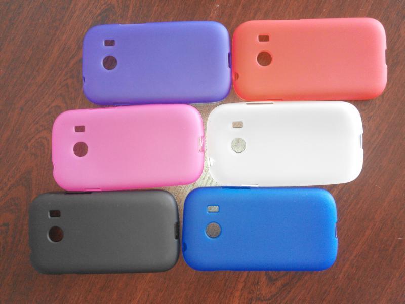 Чехол силиконовый Samsung G310 Galaxy Ace Style цветной