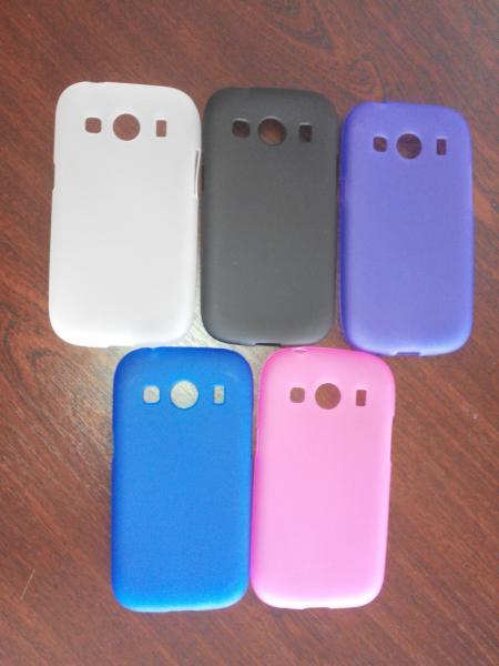 Чехол силиконовый Samsung Galaxy Ace Style G357 цветной