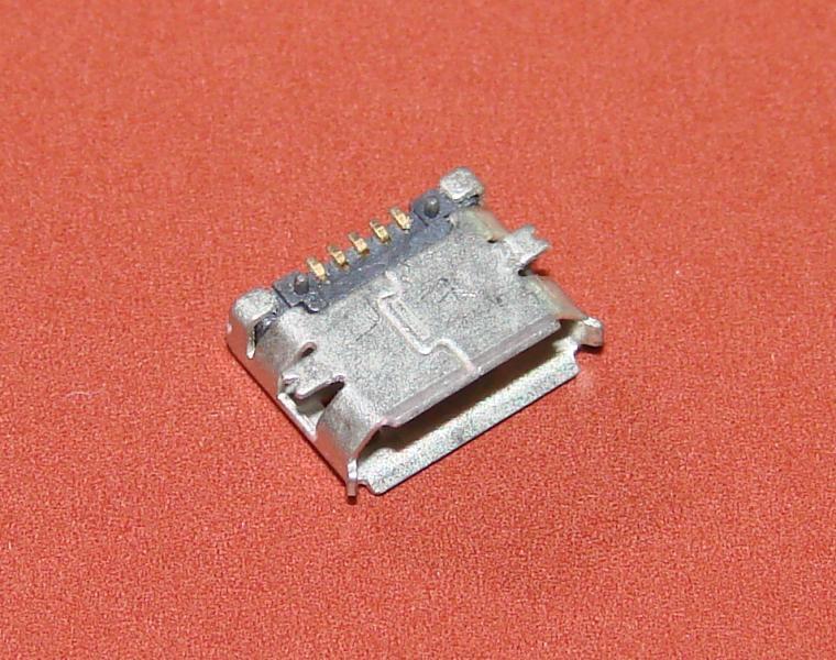 Гнездо micro USB 5pin (№24)