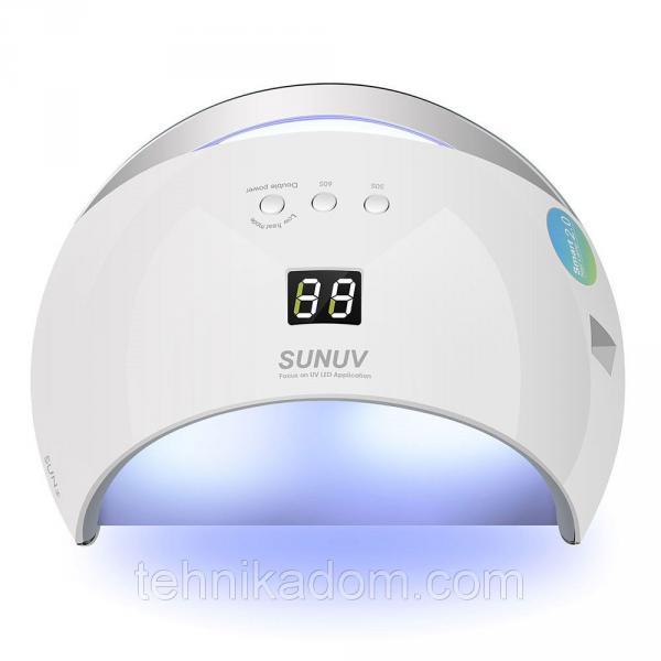Лампа для сушки ногтей 48W LED UV SUN6 (gr006500)