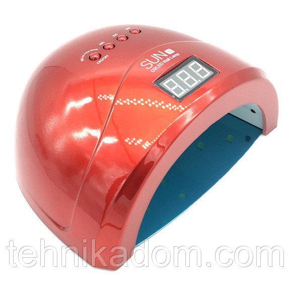 Лампа для сушки ногтей SUN Nails 1s 48W Red