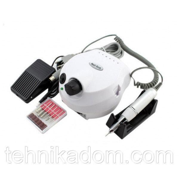 Фрезер для маникюра и педикюра DRILL PRO Nail Master ZS-601 White
