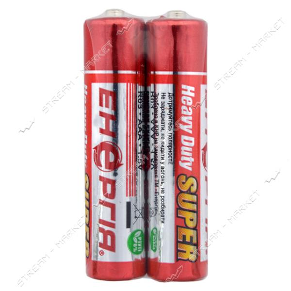 Батарейка Энергия солевая AAA/R03 ('микропальчик') (уп.2 шт. цена за уп.)
