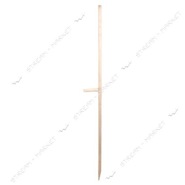 Черенок для косы с ручкой и хомутом (Липа)