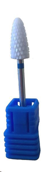 Фреза для ногтевого сервиса керамическая для снятия гель-лака (кукуруза) F60BS