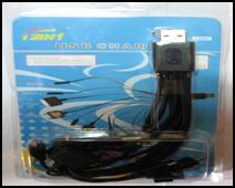 USB универсал 10 переходников для ЗУ